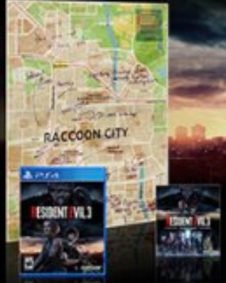 Raccoon City Survival Map