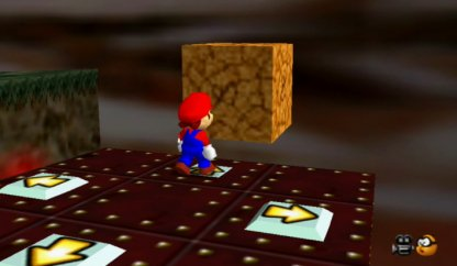 Red Coins Inside The Blocks