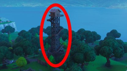 Dance on top of a Ranger Tower Lonely Lodge