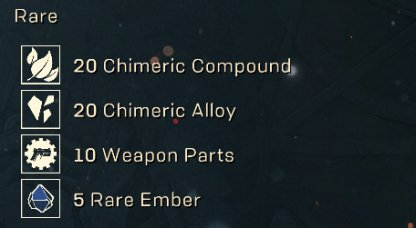 Materials Needed To Craft Weapons