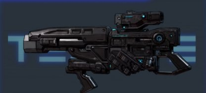Tediore  E-Tech Shotgun Buffed