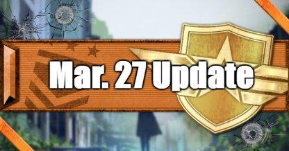 Mar 27 Update