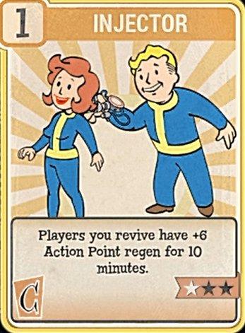Fallout 76 Perk Card Charisma Injector