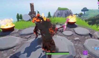 PRISONER Stage 4 Circle of Flames Location - North Of Wailing Woods