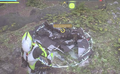 Anthem Utilize Compass To Find Sentinel Signets