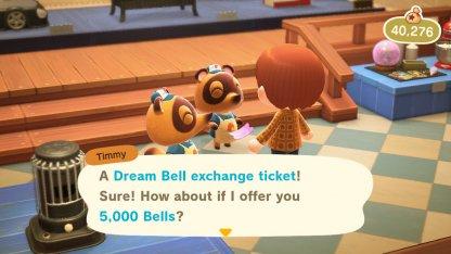 Dream Bell Exchange Tickets