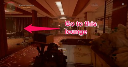 Clear The Hallway Of Enemies & Head Towards Lounge