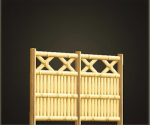 Bamboo Lattice Fence