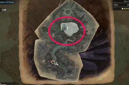 Confluence of Fates Map - Lowest Level