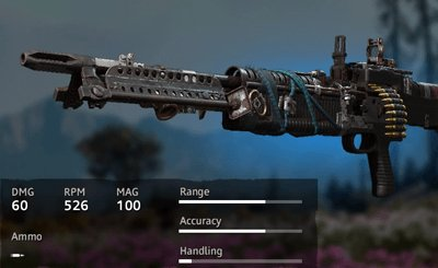 Far Cry New Dawn Makeshift M60