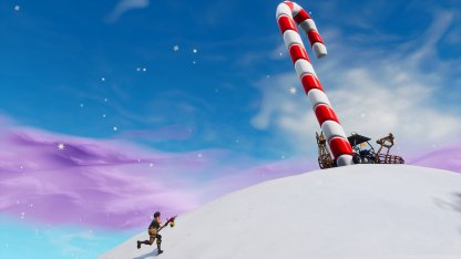Fortnite Visit Giant Candy Canes Challenge 14 Days Of Fortnite