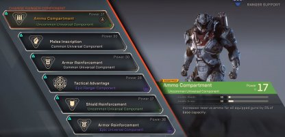 Anthem All Components List - Rarity & Effects
