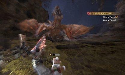 Tigrex Roars Cause Damage