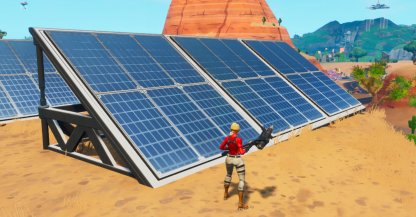 Visit a Solar Array in the Snow, Desert, & Jungle Challenge