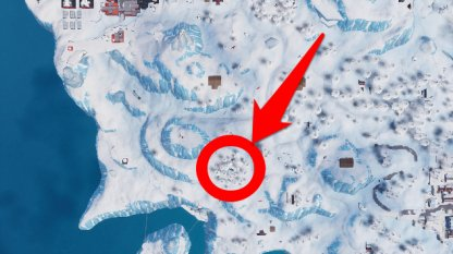 Season 7 Week 5 Secret Battle Star Location Overhead View