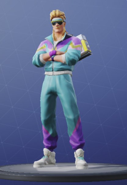 Skin Outfit MULLET MARAUDER