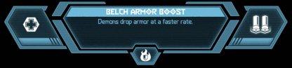 Belch Armor Boost
