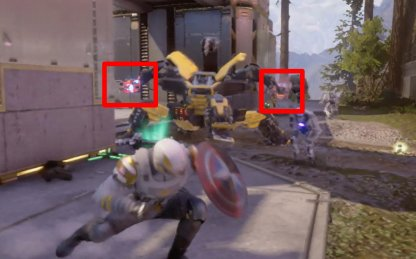 Hit Dreadbot Parts To De-Weaponize