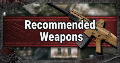 Recommended Weapons