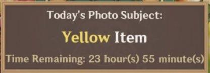 Yellow Item