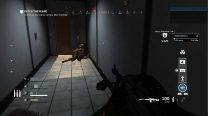 There is a Safe Room Behind the Comms
