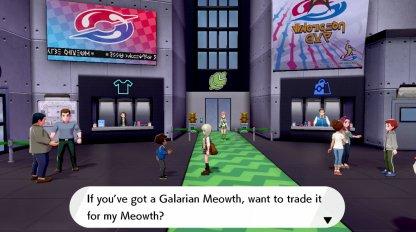 Trade Galarian Meowth For Regular Meowth