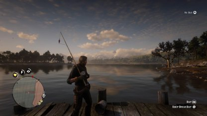 Red Dead Redemption 2 How to Fish