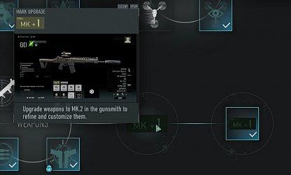 Unlock Mk. Upgrades In Skill Tree