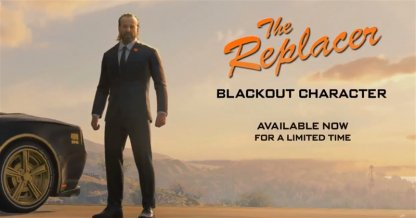 New Blackout Character: The Replacer