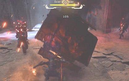 Anthem Scar Enforcer Has Shield & Big HP Bar