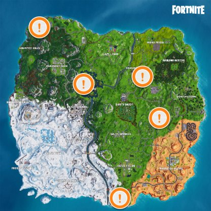 Shopping Cart Locations