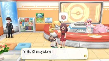 Chansey Master Trainer