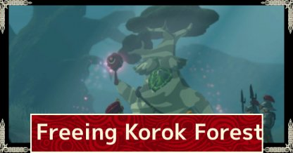 Freeing Korok Forest