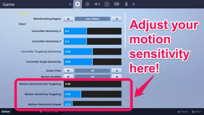 Fortnite | Controls & Settings for Switch