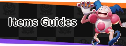 Items Guides