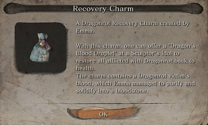 Receive Recovery Charm From Emma