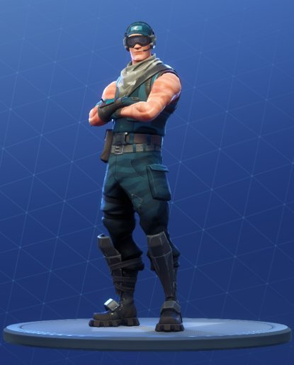 Skin Outfit FIRST STRIKE SPECIALIST