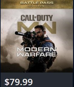Cost Is Around $79.99 For PS4