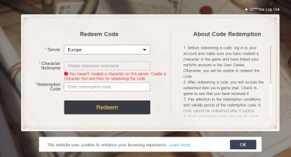 Promo Codes Are Bound By Server