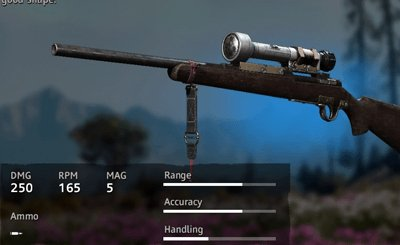 Far Cry New Dawn Makeshift 308 Carbine