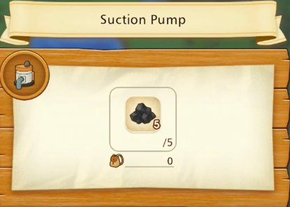 Need Refined Coal As Fuel To Power The Water Pump