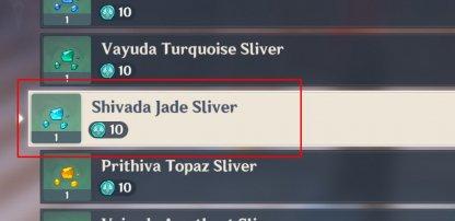 Shivada Jade Sliver Buy