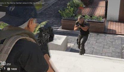 Take Out Enemies Patrolling the District