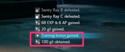 Training Bonus