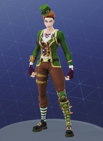 Skin Outfit SGT. GREEN CLOVER