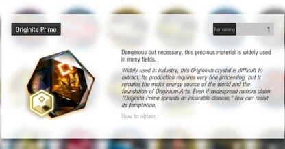 How To get Originium