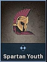 Spartan Youth Sticker