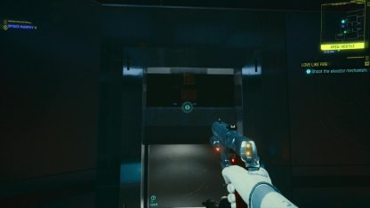 5. Shoot The Elevator Wire To Proceed