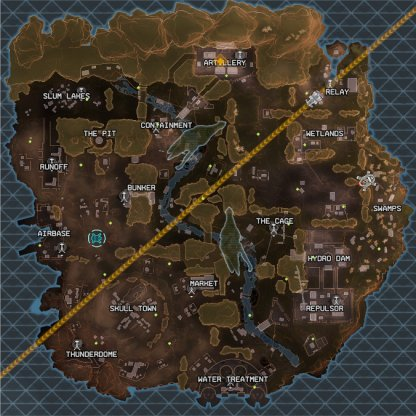Updated Season 2 Map