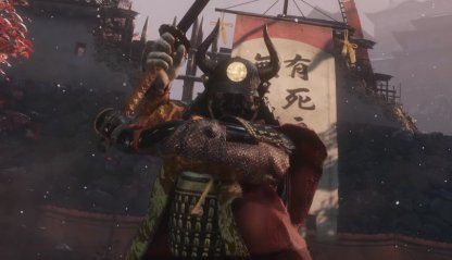 Sekiro Shadows Die Twice Boss General Tenzen Yamauchi